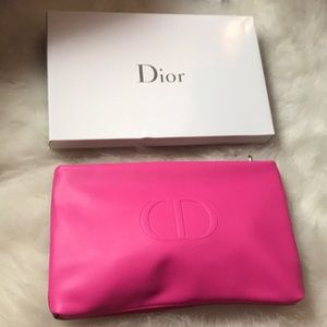 New Dior Colorblock Makeup Bag
